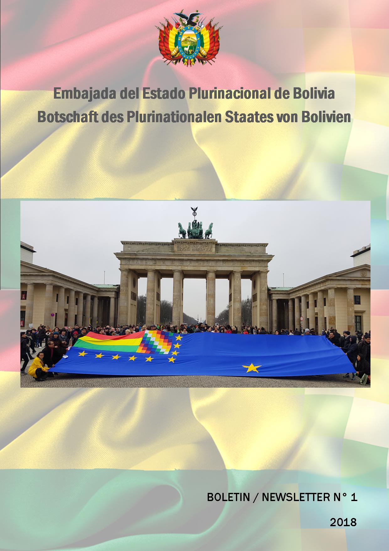 Botschaft des Plurinationalen Staates - Bolivien in Deutschland